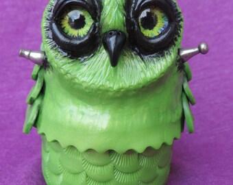 Frankenstein Owl box