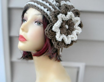 Womens Hats, Crochet Beanie, Winter Hat Woman, Fashion Accessories-the marble