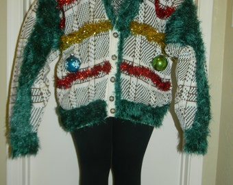 "Ugly Christmas Sweater ""Grinch"""