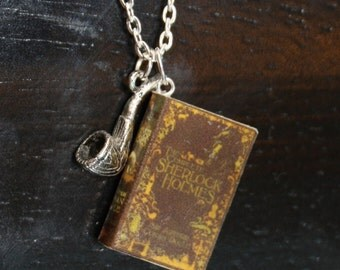 The Complete Sherlock Holmes Mini Book Necklace