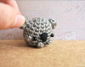 Koala keychain, koala amigurumi, kawaii koala, tiny koala doll, handmade amigurumi, crochet doll, for your keys, home decor, phone charm