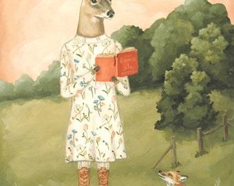 Emma Deer / Large Print 11x14
