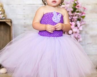 Lavender Purple Easter Tutu Dress