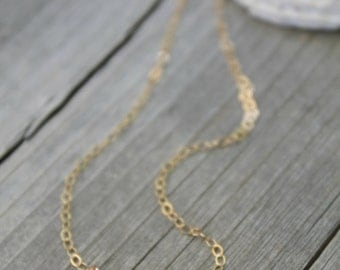 Tiny two Heart tags Initial Necklace, All 14K GOLD FILLED, personalized, Monogram, 2 letter A B C D E F G H I J K L M N O P R S T U V W
