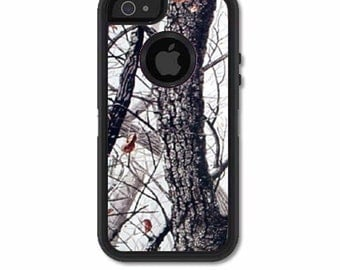 Skin FOR the OtterBox Defender Case for iPhone 5 or 5S - Winter Camo, Tree Camo, Artic - Free Shipping OtterBox Case NOT included