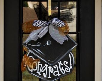 Graduation Cap Party Sign | Graduation Party Decorations | Graduation Invitation | Graduation Centerpiece | Graduation Party Ideas