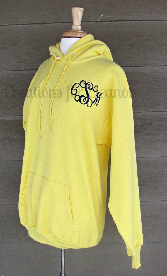 women u0026 39 s monogrammed hooded sweatshirt by creationsforeleanor