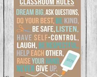 Classroom Quotes Fascinating Classroom Quote  Etsy