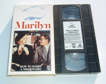 1953 How to Marry a Millionaire VHS Vintage 20th Century Fox Classic Marilyn Monroe