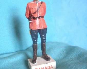 Canadian Mountie from 1950's