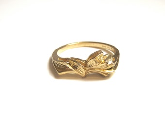 14k Yellow Gold Ring Size 6 1/2