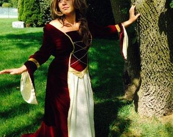 Renaissance / Medieval Halloween costume size 5-7