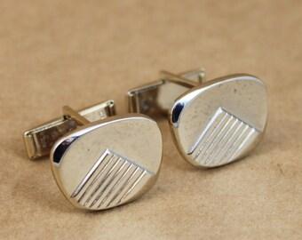 Vintage 50's Gold Cufflinks