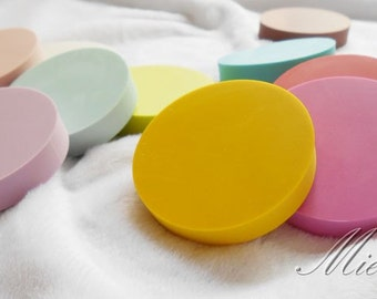 Round Rubber - DIY Rubber Stamp - Stamp Rubber - 3.6cm - 7 Colors can choose