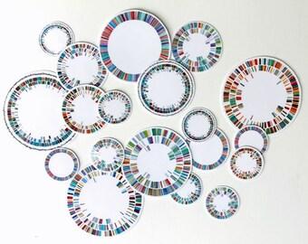 Plasmid Vinyl Stickers, Biology sticker, Science art, science stickers, dna, bacteria, vinyl sticker, plasmid, biology, science gift, germ