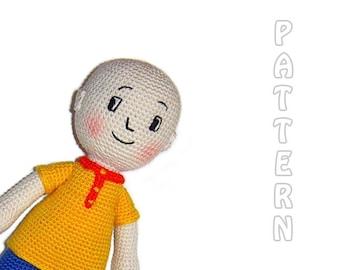 PDF - Caillou Amigurumi Pattern