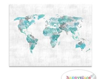 Adventure Awaits World Map Push Pin World Map Map on