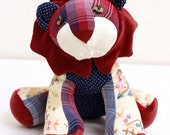 Custom Memory Lion Stuffed Lion Stuffed Animal Memory Animal Personalized Baby Keepsake Gift Custom Lion Keepsake Lion Memorial Gift