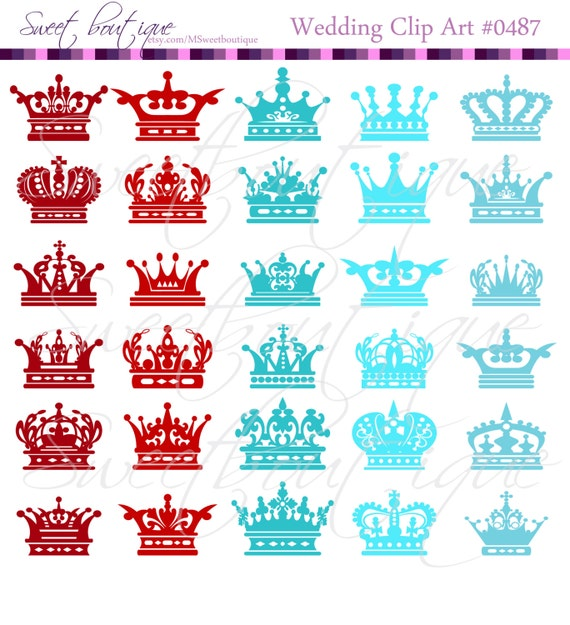 red crown clipart - photo #35