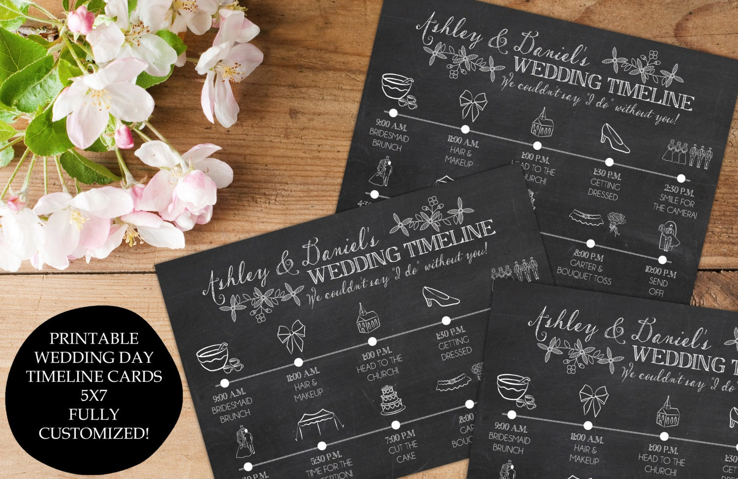 Wedding Day Timeline 2pm Ceremony: Wedding Day Timeline Itinerary Schedule For The Bridal Party