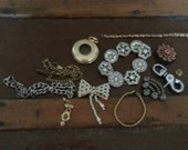 Assorted Vintage Costume Jewelry Pieces