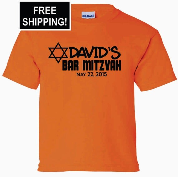 Items similar to 50 shirts bar mitzvah party t shirts for Custom bar t shirts