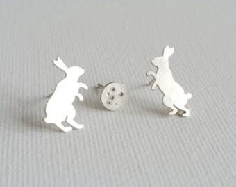 Moon Rabbit Earrings
