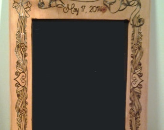 Custom Handmade wooden picture frame