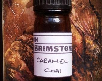 Caramel Chai perfume oil - caramel, chai tea, cardamom, nutmeg, gingerbread