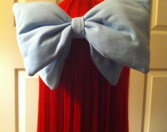Human Mermaid cosplay bow (puffy)