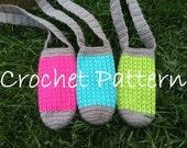 PATTERN PDF Crochet Water Bottle Holder, Bottle Buddy, Hiking Helper, Crochet Bottle Pattern