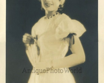 Beautiful actress antique art photo by E. R. Richee