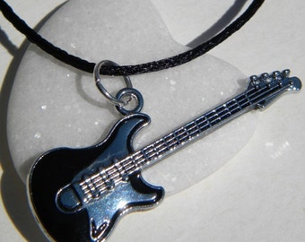Rayon necklace - electric guitar Fender Stratocaster