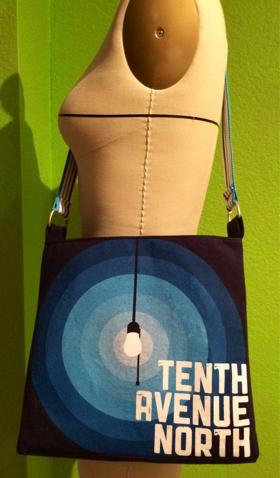 Tenth avenue north bag upcycled t shirt crossbody by for Tenth avenue north t shirts