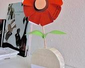 Make your flowers! - creative wooden toy