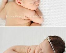 Newborn Rhinestone Headband, Newborn Photography Prop