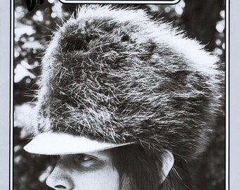 Missouri River Mountain Man Fur Trapper Hat Sewing Pattern - Historic, Pioneer