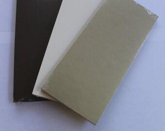 25 tea-length cards