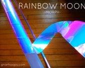 Moon Rainbow Morph DIY Hoop Kit ~ Create Custom Polypro, HDPE & Beginner Hoops ~ Color-Change Morph Shifting Tapes