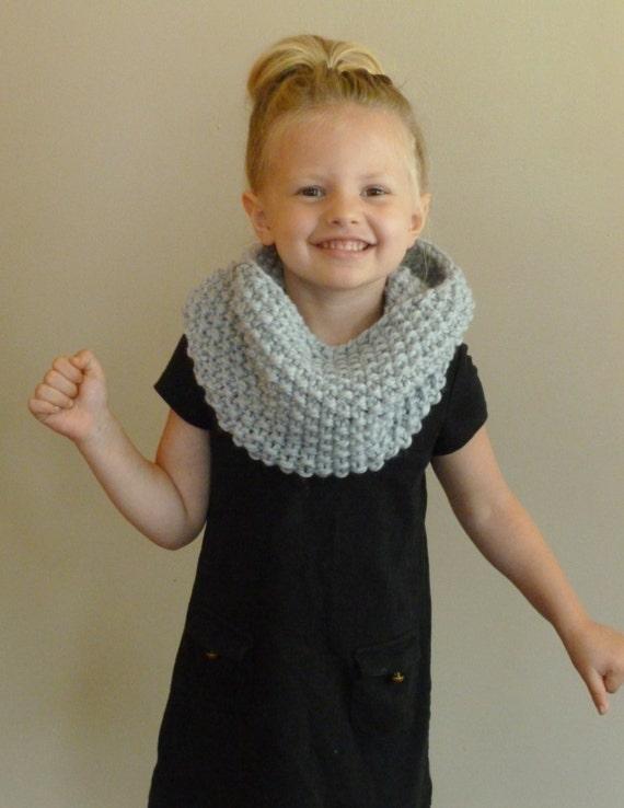 Knitting Pattern For Toddler Neck Warmer : Hand stricken Kleinkind/Kids Cowl wahlen Farbe Kinder Seed