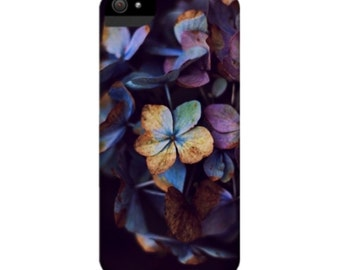 Smartphone Case Hydragena Dreams for iPhone iPod  Samsung Blackberry HTC Flowers Spring Nature Photography Fine Art Vintage black blue lilac