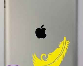 Feather iPad Decal