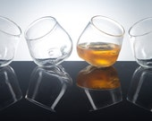 Limestone Glass, Set of 4, Rocks Glass, Bourbon, Whiskey, Glassware