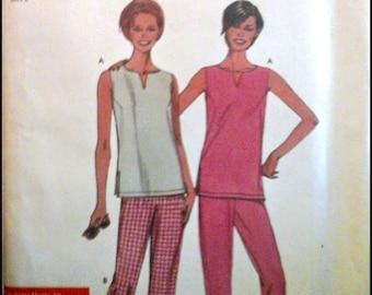 Simplicity 9259  Misses' Top And Pants  Size (10-20)  UNCUT