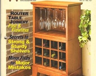 Woodsmith magazine vol 25 no 150 december 2003 heirloom ...