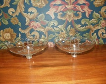 Clear Glass Candle Wax Catchers or Votive