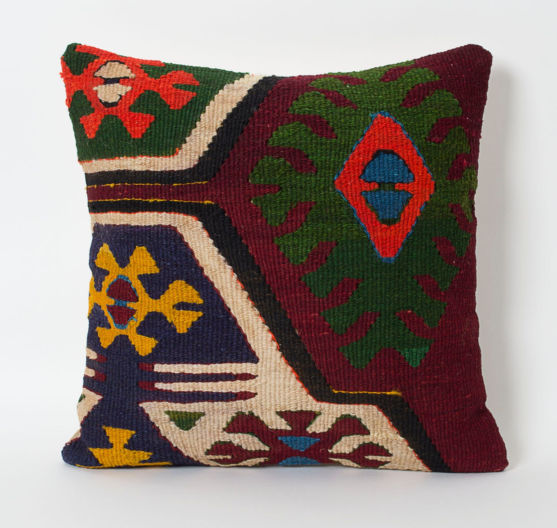 Kilim Pillow Cover Decorative Kilim Pillows Tribal Pillow