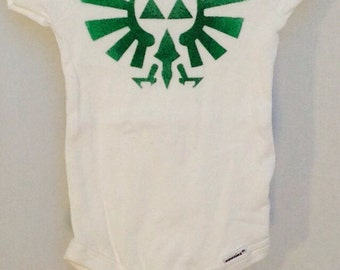 Legend of Zelda, Triforce, Crest of Hyrule Bodysuit
