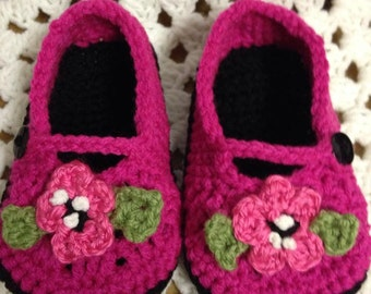 Mary Jane Slippers Youth to Adult Sizes