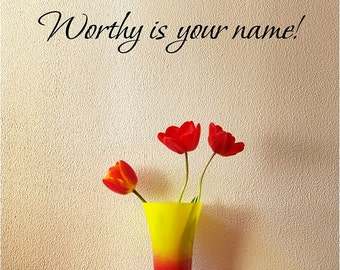 Is mp3 of god worthy download your name lamb jesus